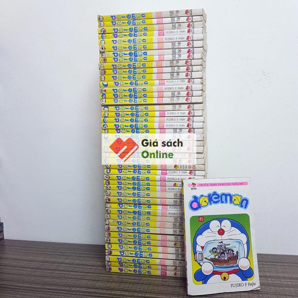 Trọn bộ 45 tập Doraemon ngắn xuôi - Fujiko. F Fujio - Giá Sách Online.com